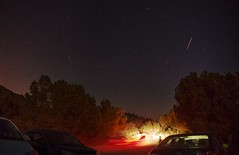 On the lookout for Perseid meteors