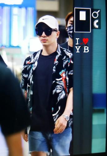 BIGBANG arrival Seoul ICN from Chengdu 2016-07-04 (10)