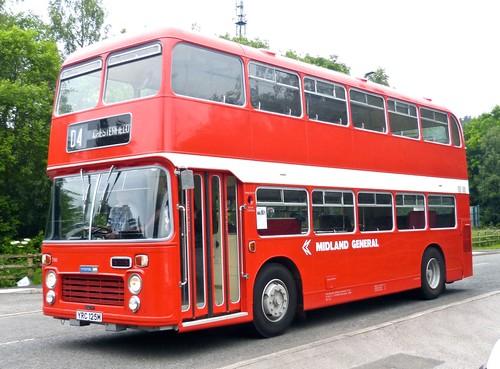 YRC 125M 'Midland General Omnibus Company' No. 780 Bristol VRT / Eastern Coach Works on 'Dennis Basford's railsroadsrunways.blogspot.co.uk'