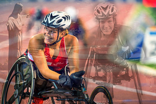 Swiss SALTO Systems / Free2Move.org Catherine Debrunner Paralympian #Wheelchair Racer training hard to stay on path to the #Rio2016 #Paralympics