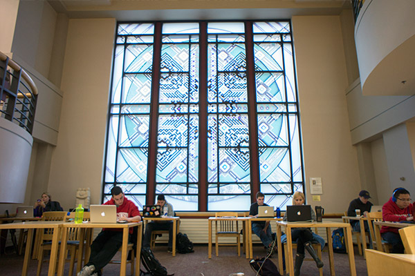 The Wisconsin School Of Business Library In Grainger Hall
