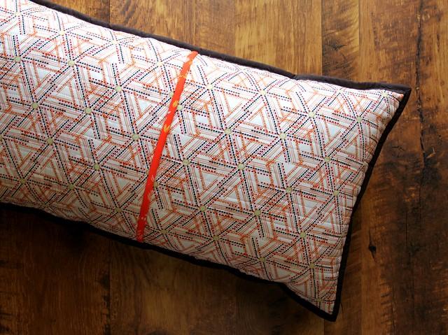 Herringbone QAYG Pillow Back