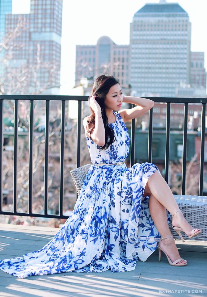 Eliza j petite floral maxi dress2
