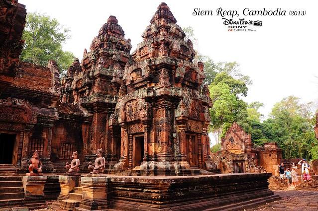 Siem Reap, Cambodia Day 5 - Banteay Srey 01
