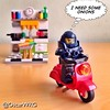 #LEGO_Galaxy_Patrol #LEGO #Vespa #Kitchen @lego_group @lego @bricknetwork @brickcentral