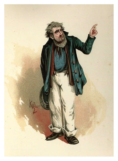 011-Mr. Peggotty-Character Sketches from Charles Dickens…1889- J. Clayton Clarke- The Victorian Web