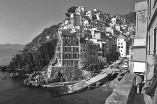 Riomaggiore - Panoramic view
