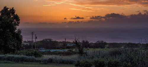 Three Sunsets: Sunset Orange by Geoff Livingston