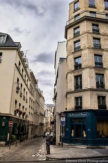 Rue Servandoni, Paris 6è, France