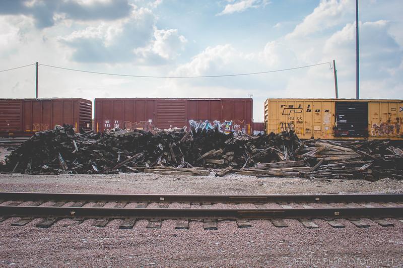 St. Louis Riverfront Train Tracks