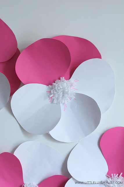 Paper pansy group by little luxury list
