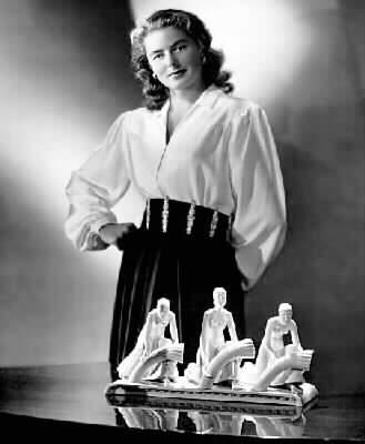 Vintage WWII Pinup Photo Ingrid Bergman