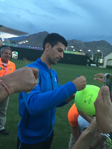 Novak Djokovic is a remarkably generous individual