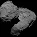 The three curious boulders are found in the Aker region of Comet 67P/C-G, on the comet's large lobe by europeanspaceagency