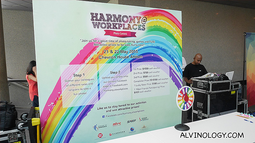 Harmony@Workplaces Photo Contest: Celebrate Harmony at Work and stand to win over S$3,000 worth of cash prizes - Alvinology