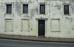 Past street