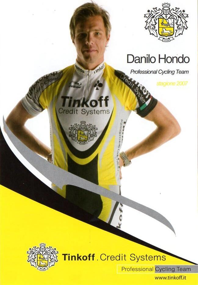 Danilo Hondo - Tinkoff 2007