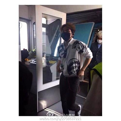 more BIGBANG arrival Shenzhen 2015-08-07 (22)