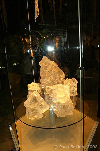 Cristales de roca de sal. © Paco Bellido, 2008