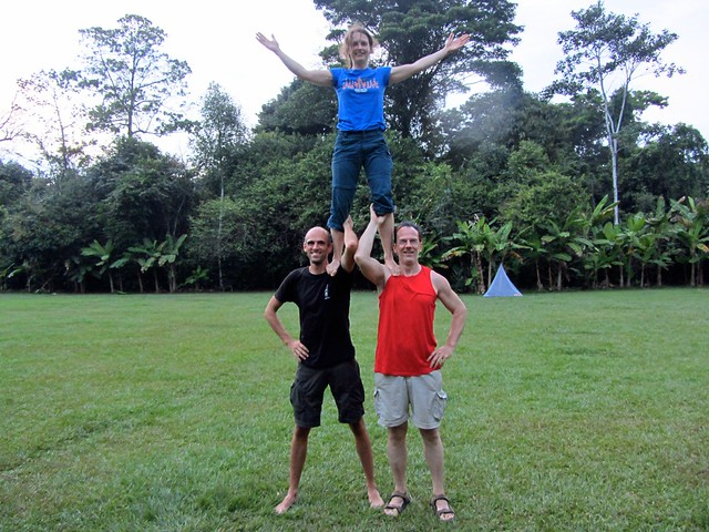 Acro in Corcovado