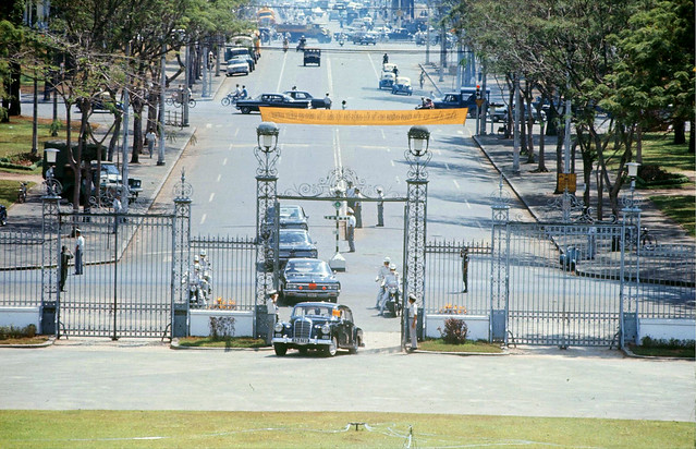 SAIGON 1967 -  Ellsworth Bunker, US Ambassador to South Vietnam (1967-1973) - by Co Rentmeester