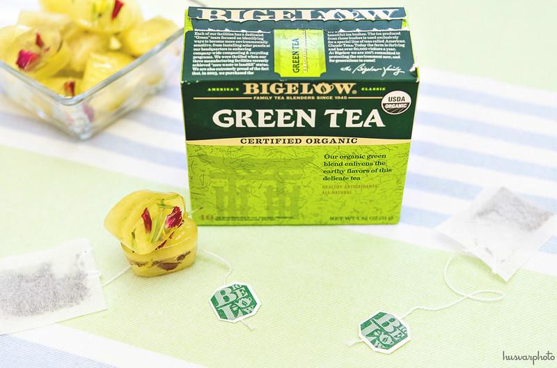 green tea depuffs and brightens dark eye circles #americastea