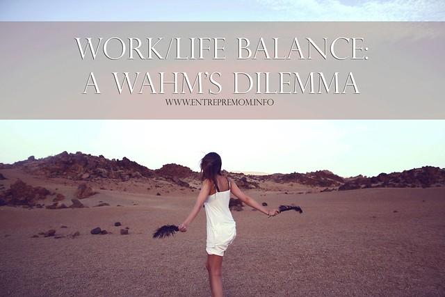 Work life balance work at home moms