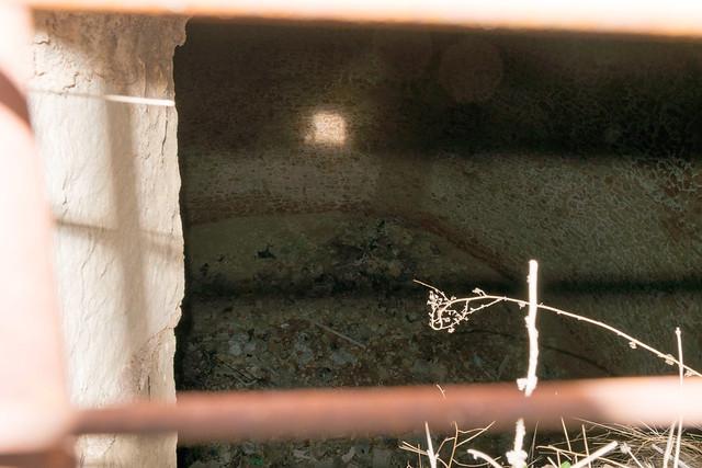 dentro del pozo