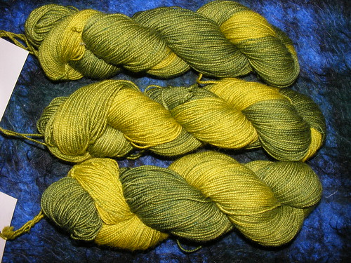 Dryad, bfl nylon sock yarn