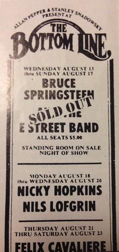 Bottom Line August 1975
