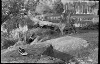Lost shoe - Vancouver, BC