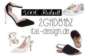 Günstige Schuhe, Rabatt Ital Design