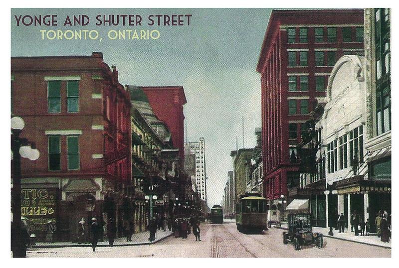 Retro - Toronto - Yonge and Shutter street