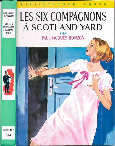 Les Six Compagnons à Scotland Yard, by Paul-Jacques BONZON