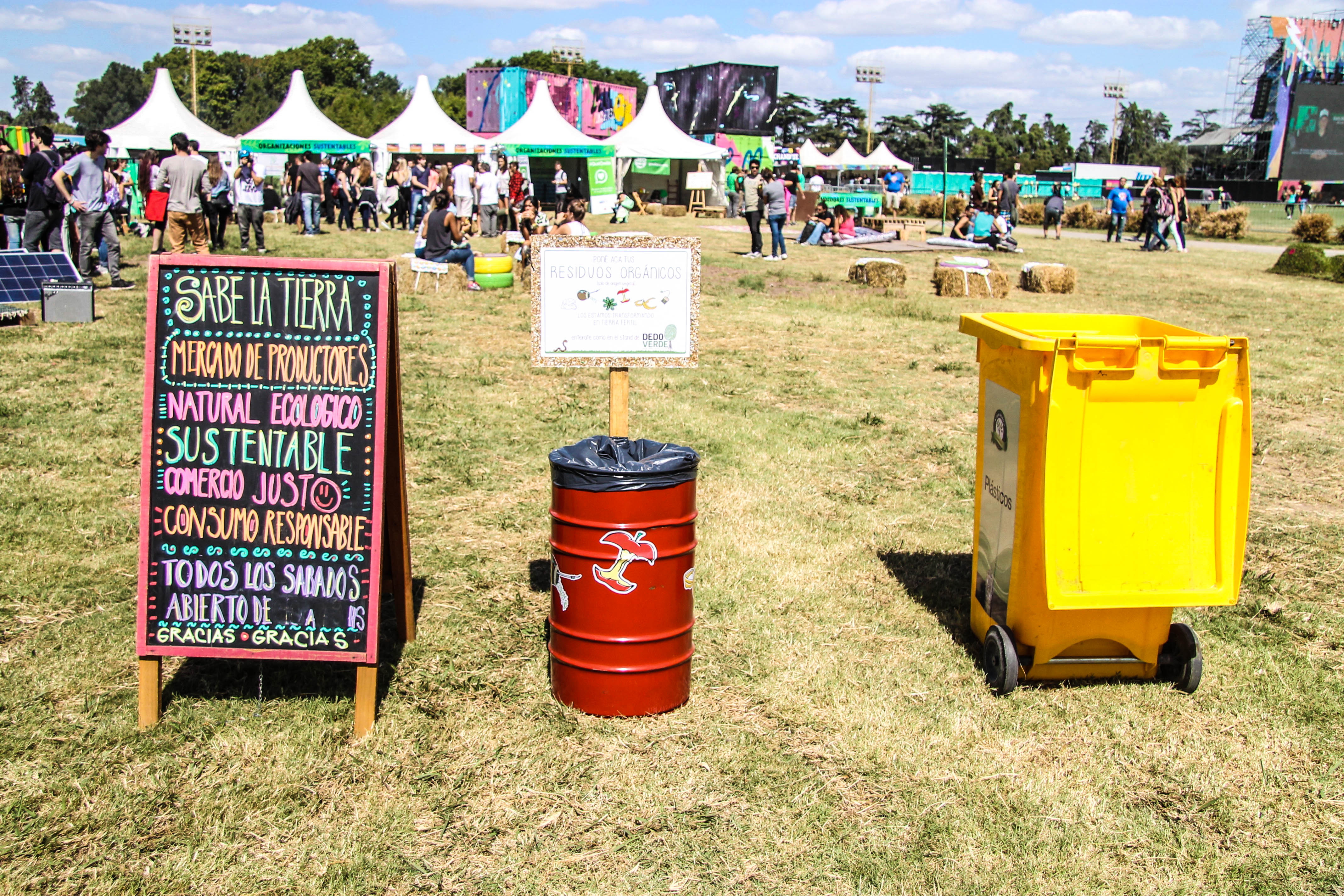 Rock Amp Recycle Lollapalooza Argentina 2017