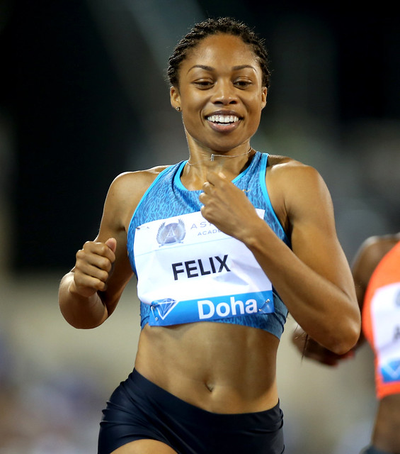 Header of Allyson Felix