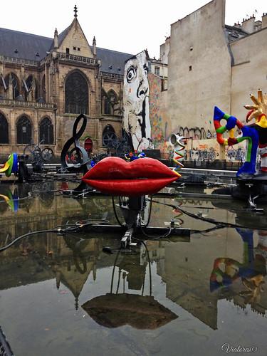 Fontaine Stravinski. Paris. France