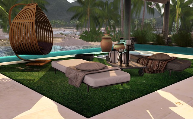 My Beach House Pool Area