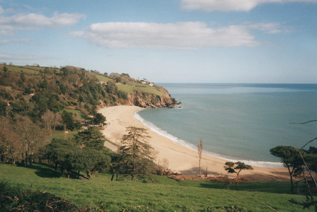 View back to Blackpool Sands