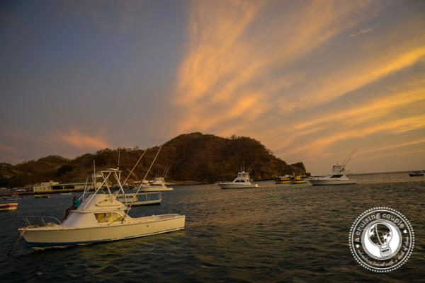 Boats at San Juan del Sur Nicaragua