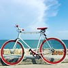 Fix & sea :bicyclist: & :tropical_fish:  #fixed #sea #landscape #Caorle #love #happiness #relax #finallyajoy #whatawonderfulplace #goodvibes #holiday