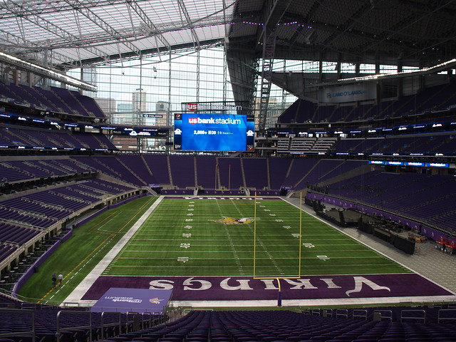US Bank Stadium Open House