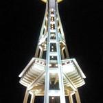 Image de Space Needle près de City of Seattle. space needle seattle night low light