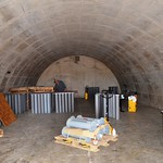 This igloo at the U.S. Army Pueblo Chemical Depot is used for Single Round Container (SRC) testing. These SRCs will be used to store problematic or reject munitions that cannot go through the automated Pueblo Chemical Agent-Destruction Pilot Plant process during operations.