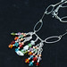 Multi-color swarovski crystal necklace with MOP and copper accents - DSC_1807.jpg
