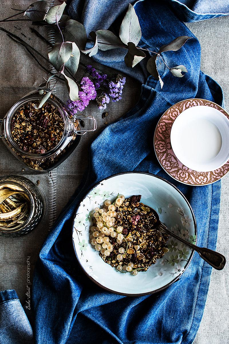 Cómo hacer granola casera con especias