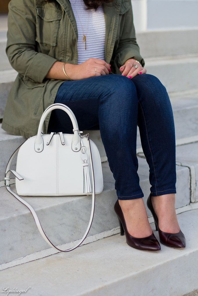 utility jacket, white sweater, denim, pumps-5.jpg