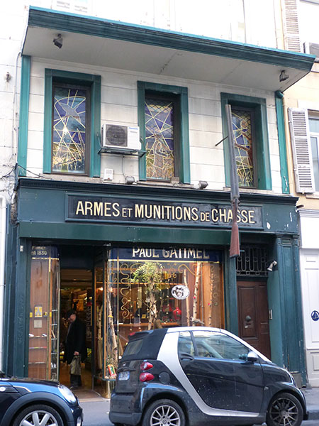 armes et munitions de chasse