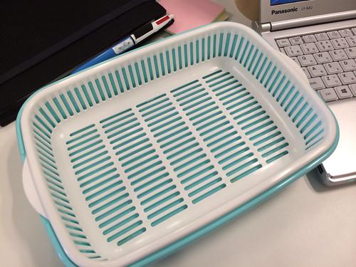 100円ショップの卓上水切り - K169 NEW 卓上水切り角 日本製