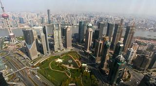 View from Park Hyatt Shanghai